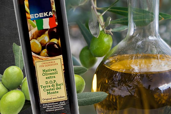 Olivenöl-Test: EDEKA macht erneut das Rennen