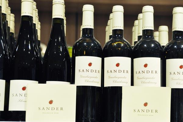 Die Weinauswahl lässt keine Wünsche offen – für jeden Geldbeutel – zu jedem Anlass
